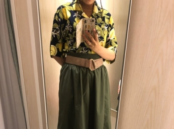 [アロハシャツ]H&Mのメンズシャツがめちゃめちゃ可愛い[1350円]