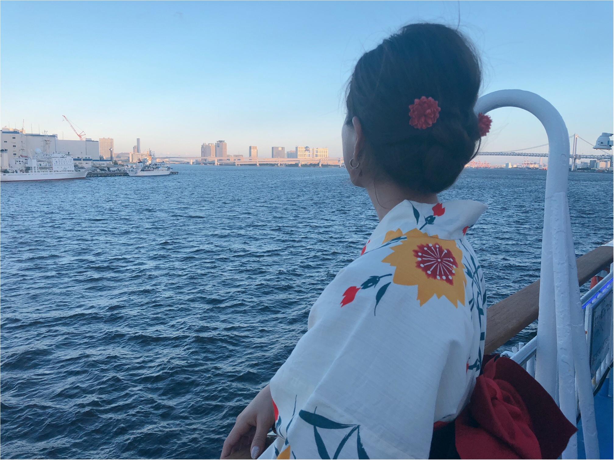 浴衣がオススメ♡東京湾納涼船2018がオープンしたよ!_3