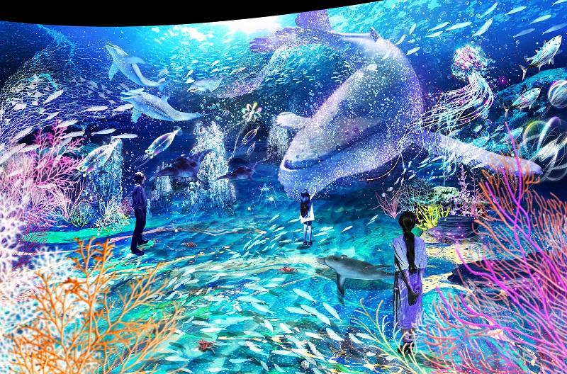 横浜デートや観光に♪ 体験型デジタルアート展「OCEAN BY NAKED 光の深海展」が日本初開催☆_3