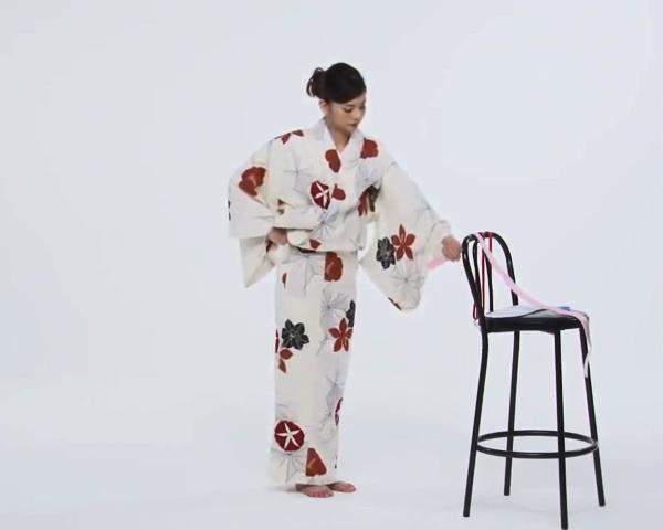 【わかりやすい動画付き】浴衣のセルフ着付け・帯の結び方 - 一人でできる! 女性の浴衣の着方は?_22