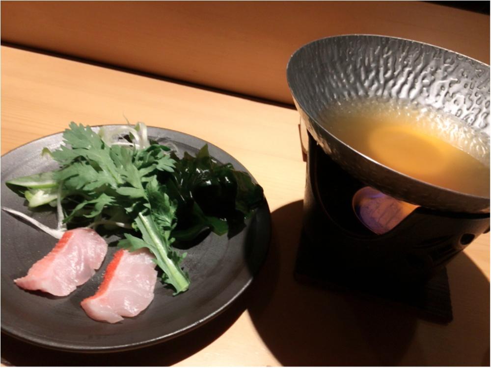 こんなのはじめて♡西麻布のお寿司屋さんに行ってきたよ♡_3