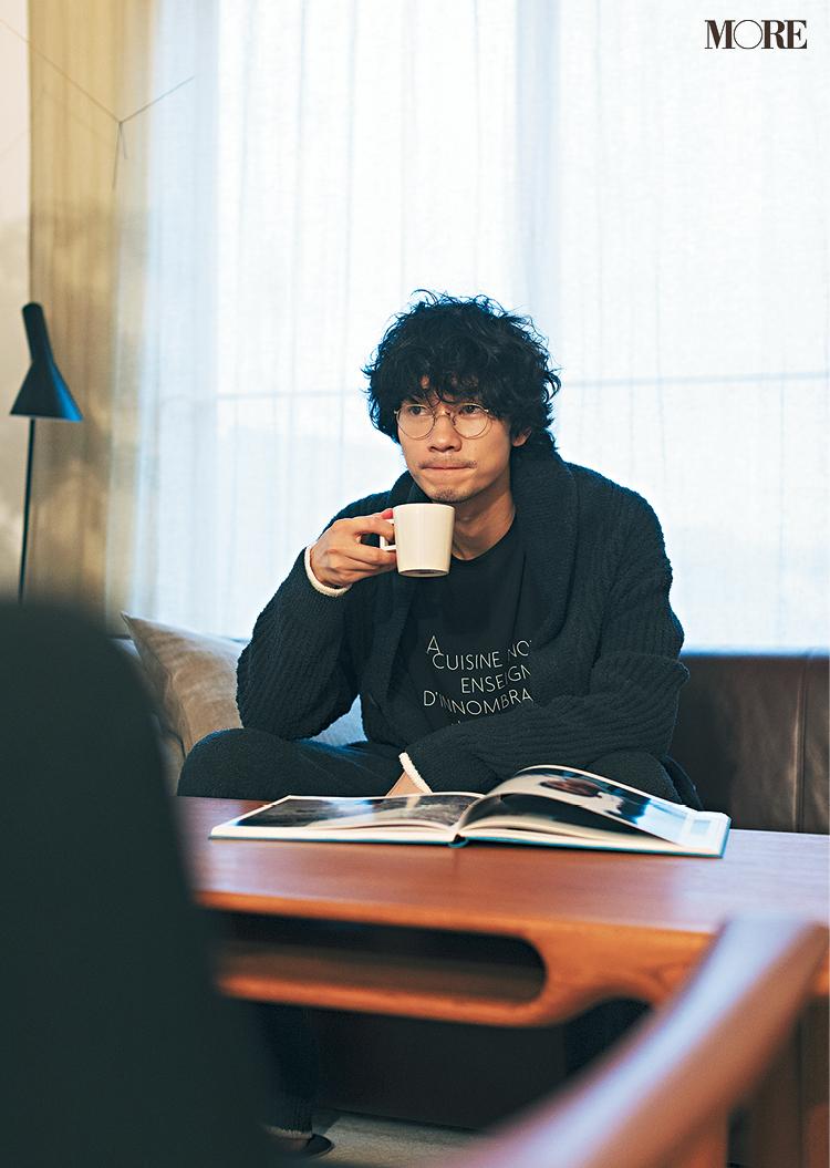 清原 翔が『ジェラート ピケ』の新作を着てみたら……♡【コーヒー好き男子編】_3