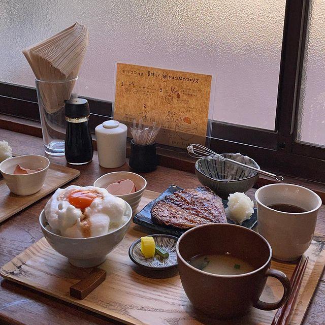鎌倉・稲村ケ崎の大人気カフェ『ヨリドコロ』の朝食