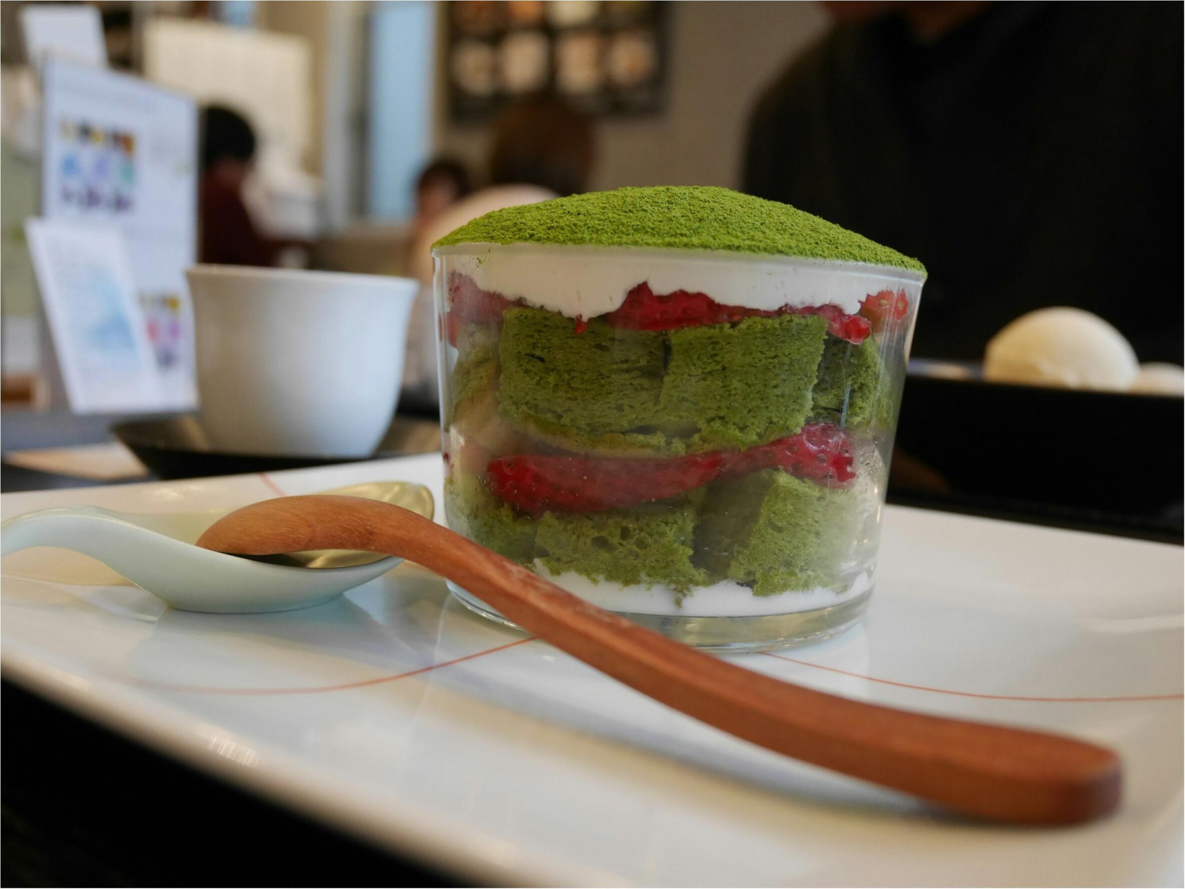 表参道にある「茶茶の間」は幅広い年代から愛される日本茶のカフェだった。_9