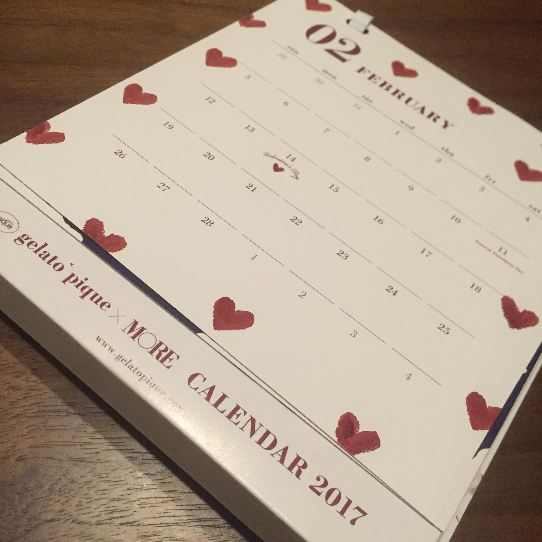 MOREは40周年♡今月の付録は毎年楽しみのジェラートピケのカレンダー&ポーチ!_3