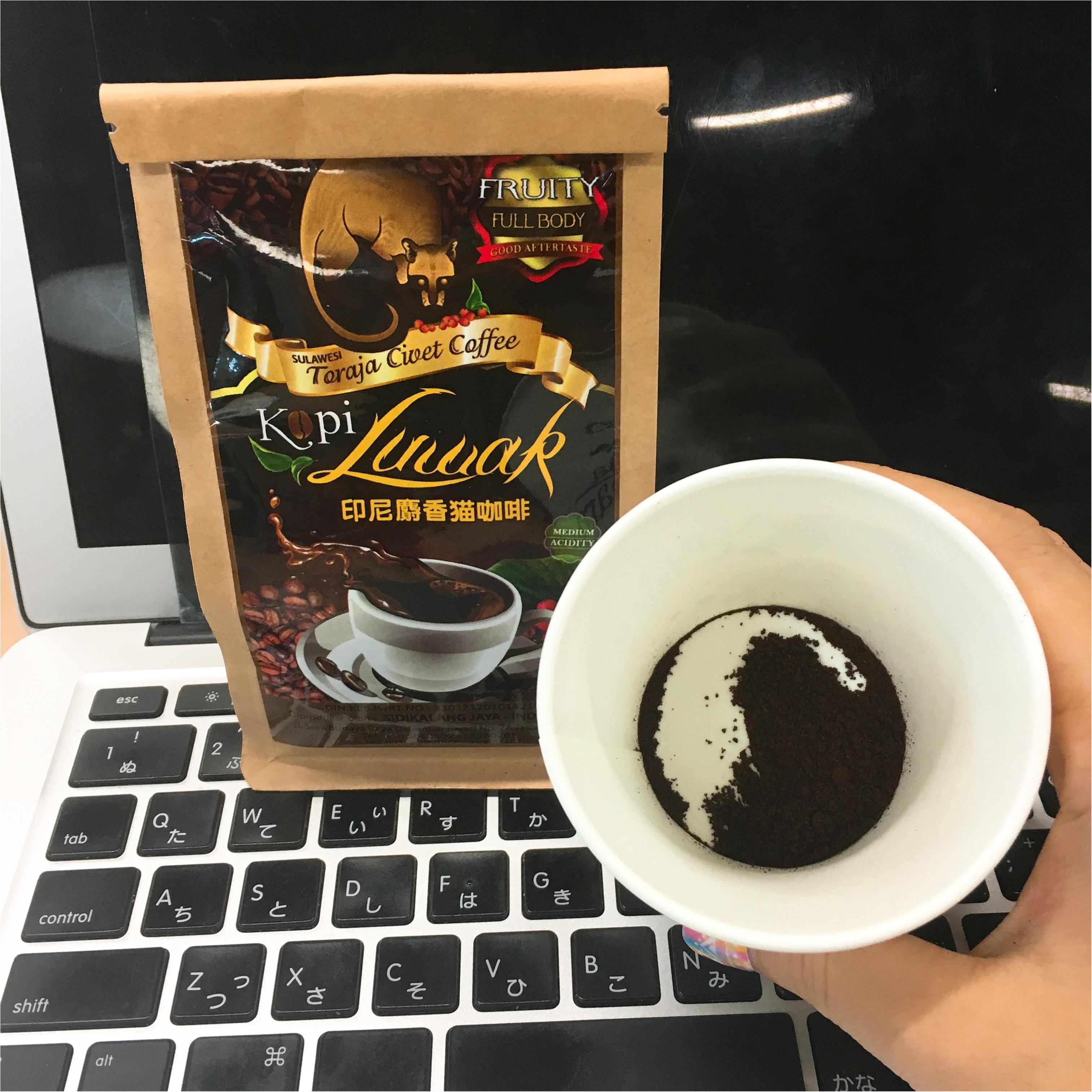 """市場価値は1杯8,000円!!幻のコーヒー、""""コピルアク""""を飲みました♡_3"""