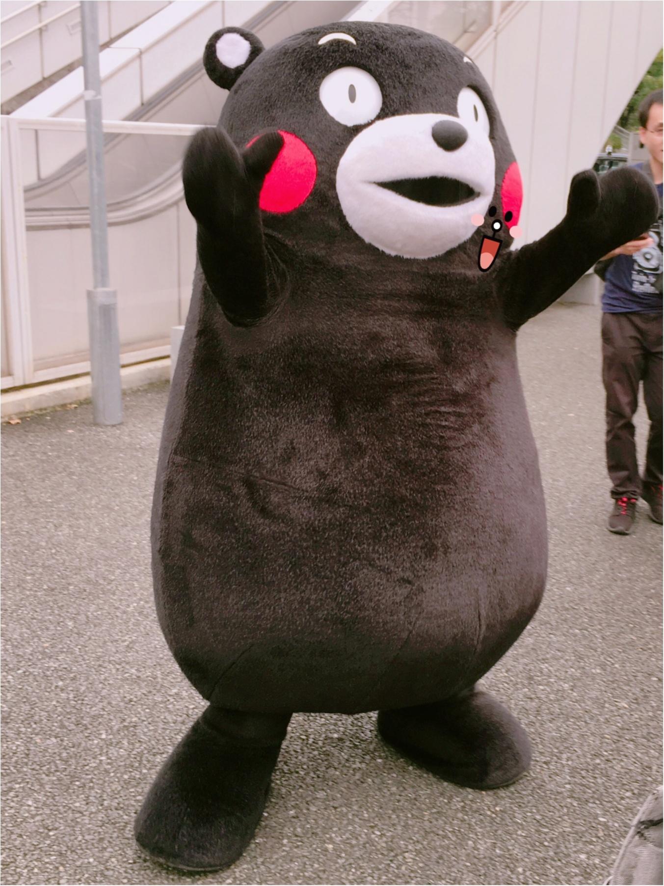 この後ろ姿は……まさかまさか!『くまモン』と遭遇しちゃいました!【#モアチャレ 熊本の魅力発信!】_2