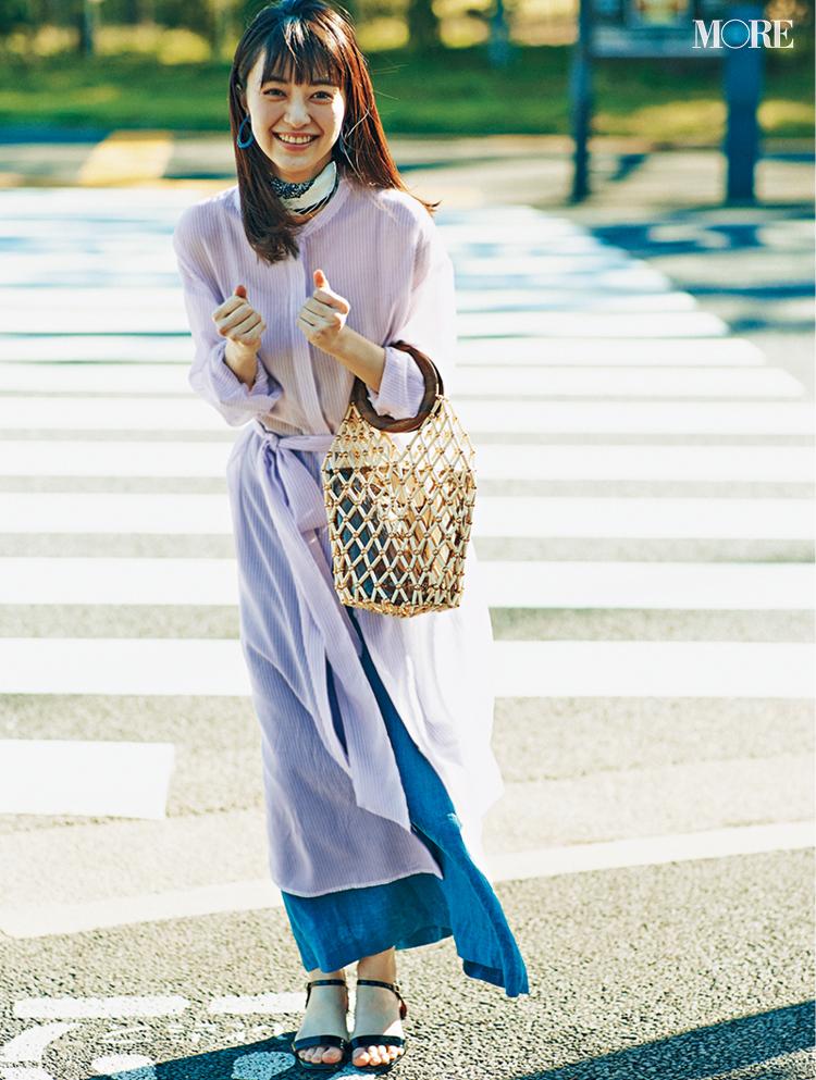 決めた。私、今日から変わるんだ‼︎ 佐藤栞里&逢沢りな着回し連載『毎日きれい色』23日目_3