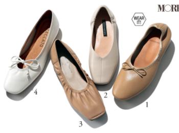 ブーツもぺたんこ靴も「クリーミーカラー」を選べば秒で大人&おしゃれ!