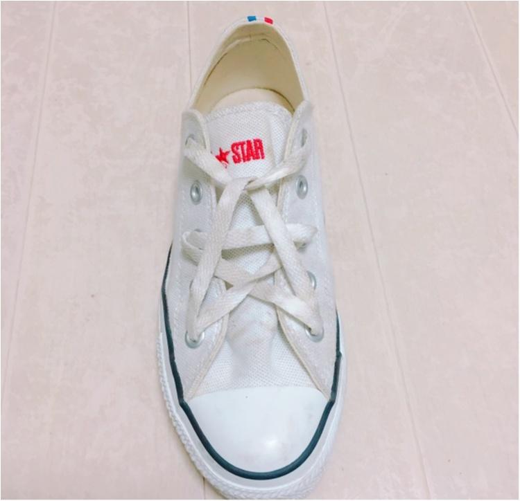 《やっぱり大好きコンバース♡》靴紐の結び方を変えて一味違う履き方してみませんか?_6