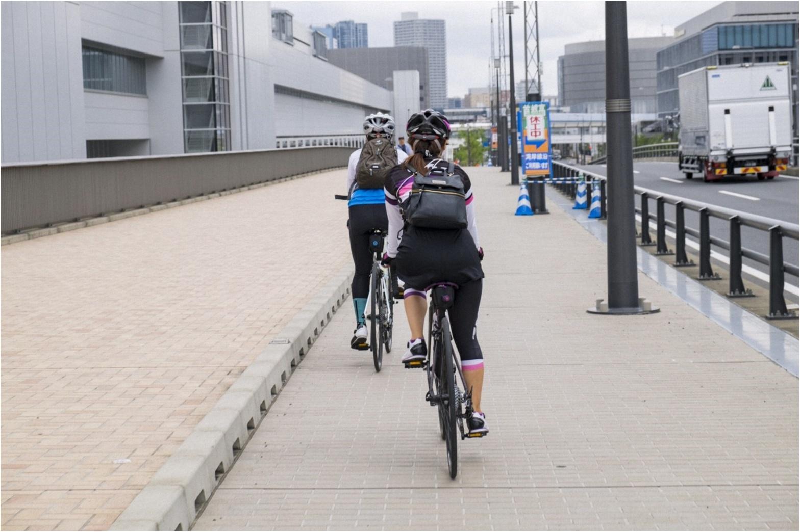 東京が小さく感じられる!ロードバイクならすいすい♪練習のお楽しみは築地で海鮮♥ #ツール・ド・東北【#モアチャレ あかね】_8