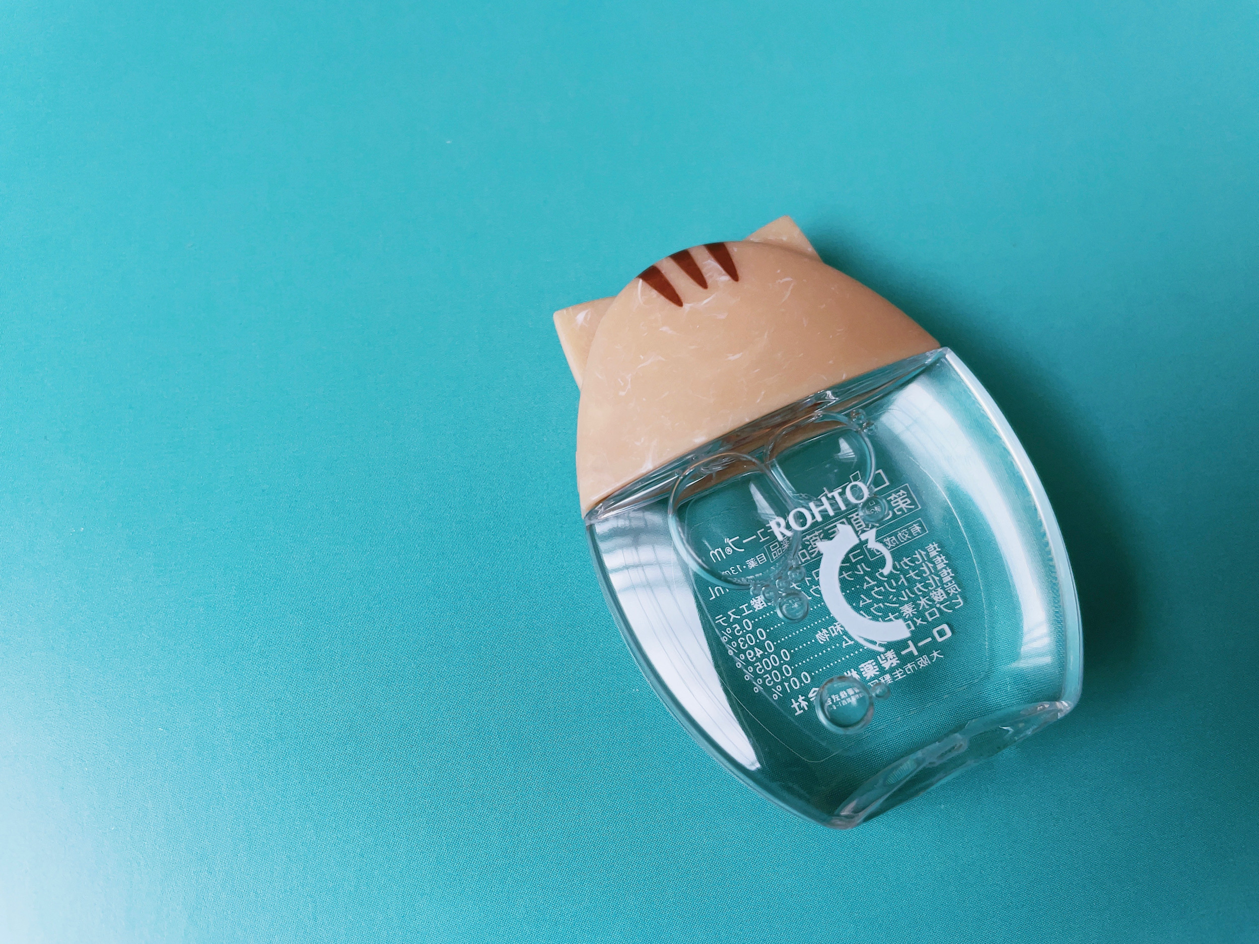 ROHTO(ロート)の 猫耳キャップの目薬「Cキューブ」