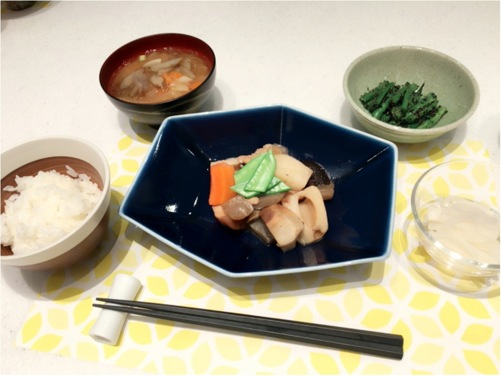 野菜料理を作ったよ♡休日の過ごし方。_2