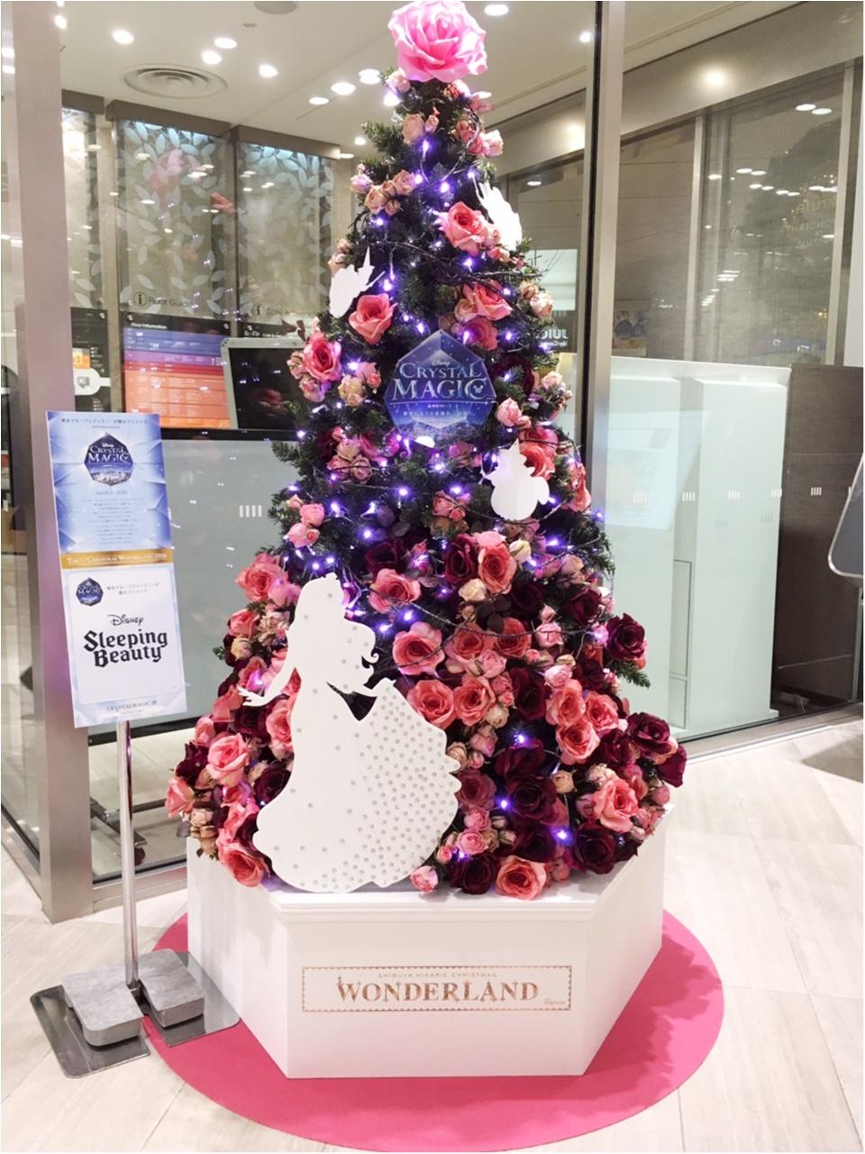 『渋谷ヒカリエ』のクリスマスはディズニープリンセスたちとコラボ♡『ラプンツェル・ツリー』点灯式に行ってきました(﹡´◡`﹡ )♡_7