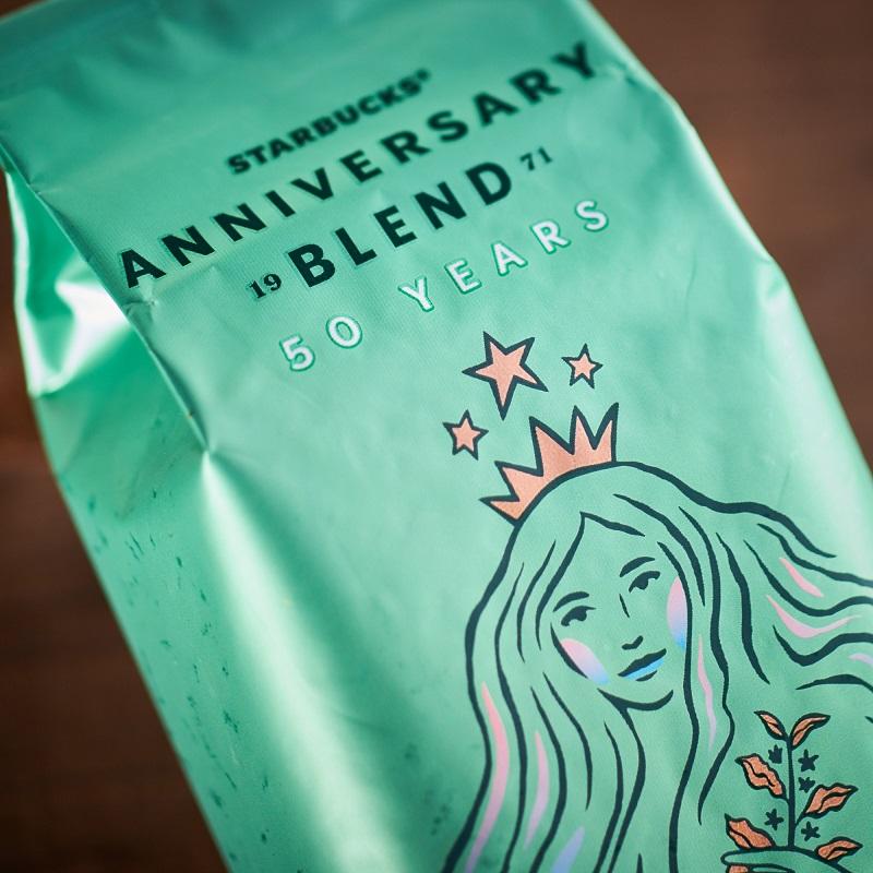 【スタバ 新作】創業50周年限定デザインパッケージのコーヒー豆