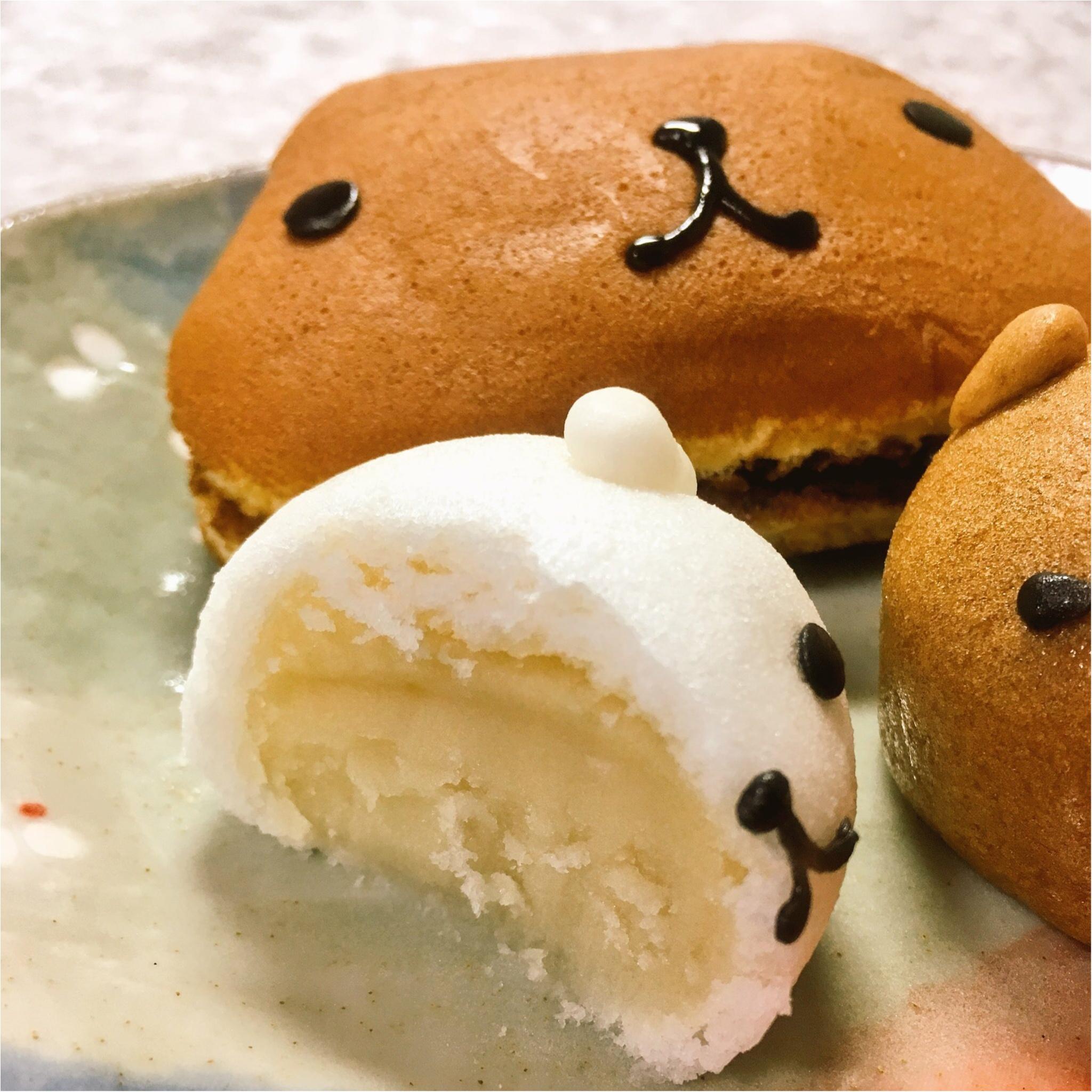 ♡数量限定♡カピバラさんの和菓子セットがかわいくっておいしい(*´ ˘ `*)♡_2