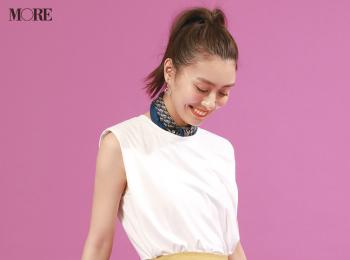 【今日のコーデ】<内田理央>定番コーデが絶対見違えるマーメイドスカートが主役