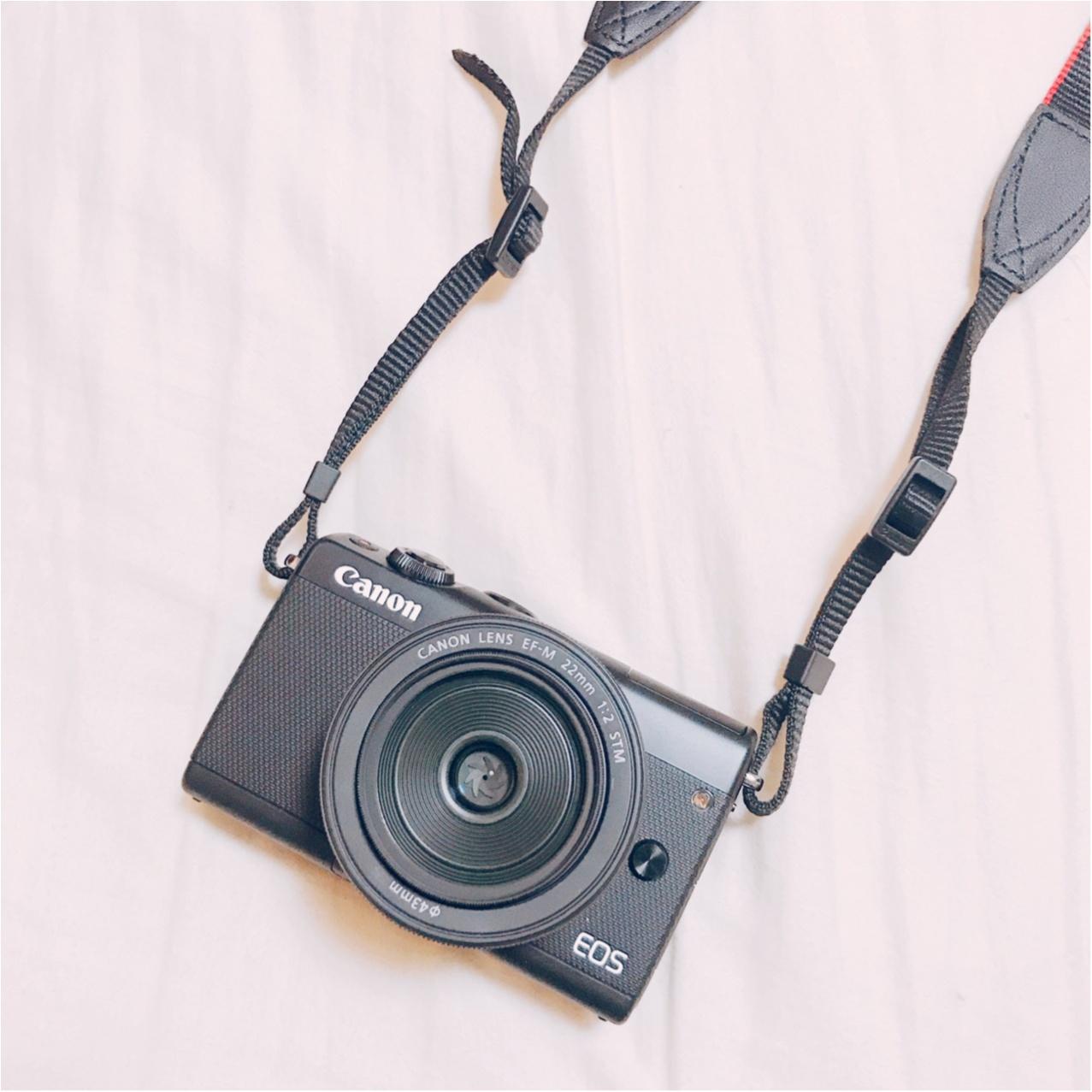 自分へのご褒美!CanonのEOS M100で念願の【カメラ女子】デビュー♡_4