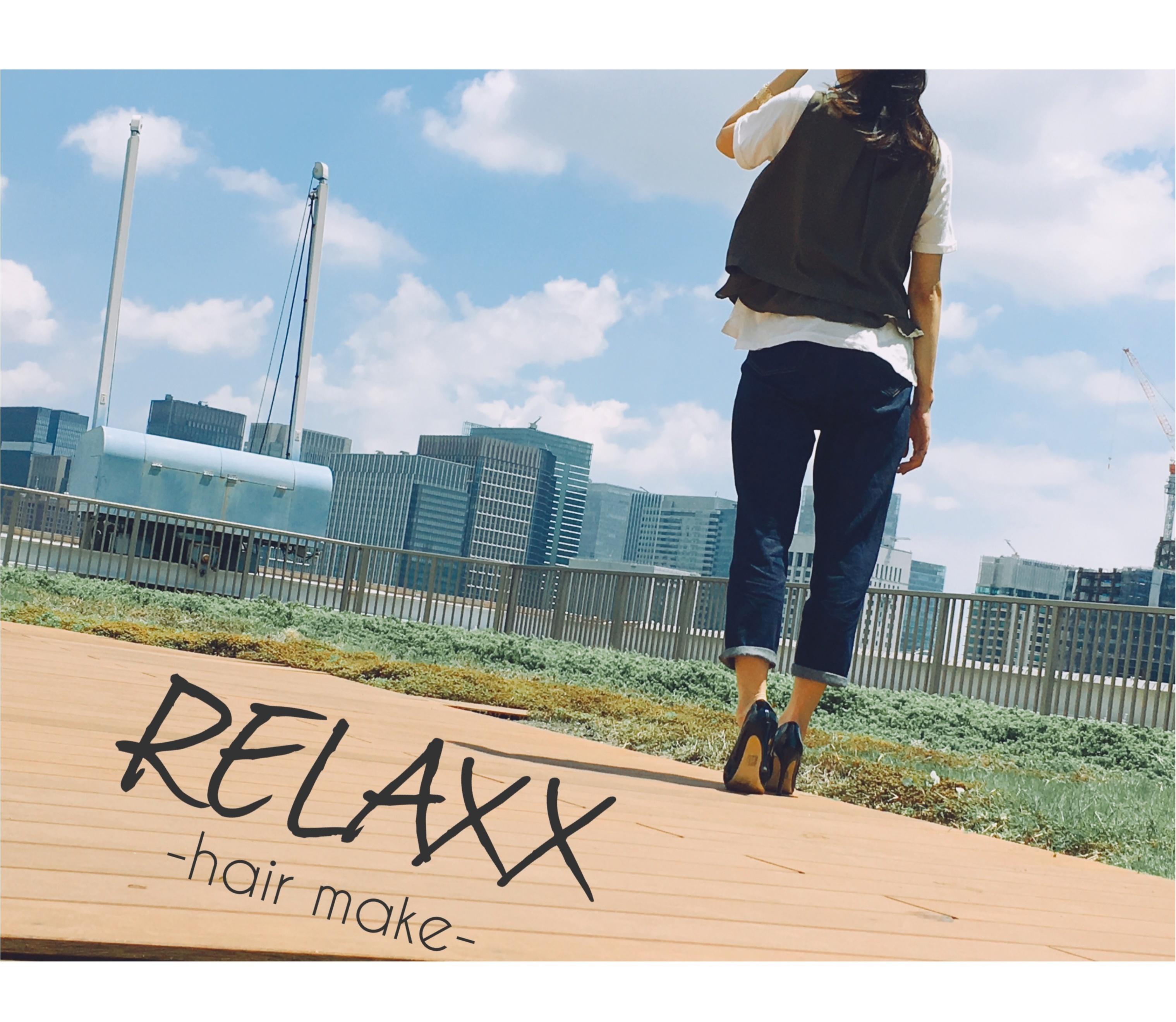 ▶︎▶︎NEW OPEN 《RELAXX》と〈gu〉のマムジーンズで夏コーデ【はるな】_1