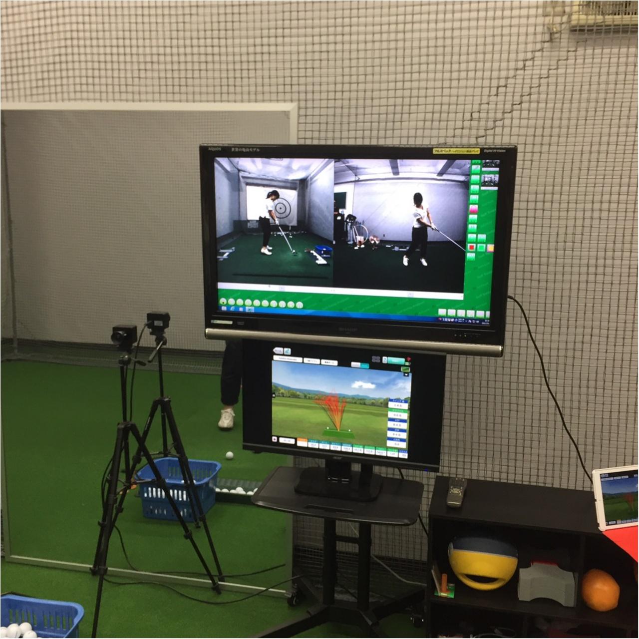 『エースゴルフクラブ 神保町』でレッスンスタート! スイング解析機で自分の欠点を発見!【#モアチャレ ゴルフチャレンジ】_3