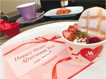 【ご当地モア❤️東京】「東京マリオットホテル」×「ハーゲンダッツ」の神コラボ!リッチで可愛すぎるアフタヌーンティー✨