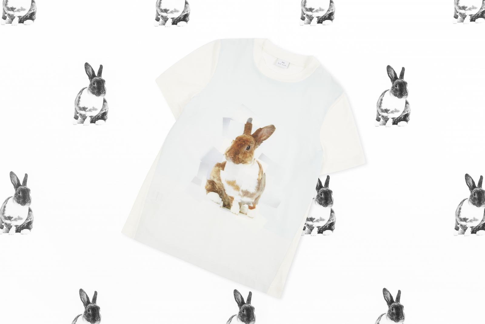 ラッキーアニマル・ウサギをモチーフにした『PS ポール・スミス』のカプセルコレクションに癒される♡_1_2