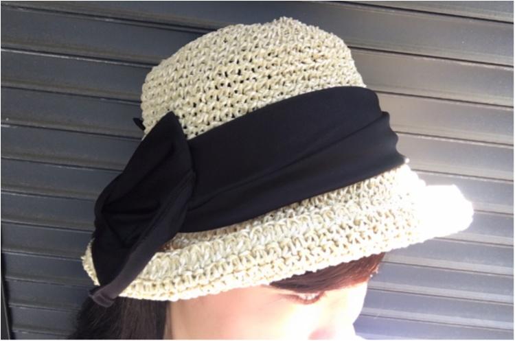 【夏小物】全力で夏を楽しむなら!《CA4LA》の麦わら帽子が断然お気に入り♪_1