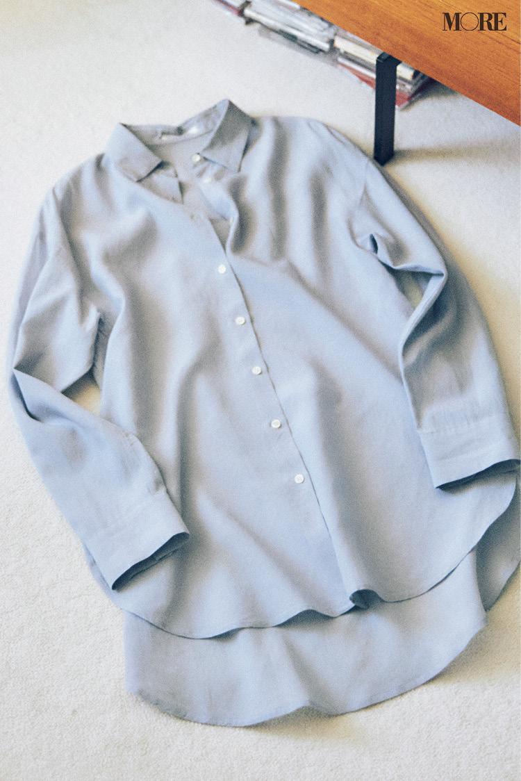 【骨格診断】ストレートタイプに似合う甘いシャツの条件って? ボトムや小物も合わせてチェック!_1
