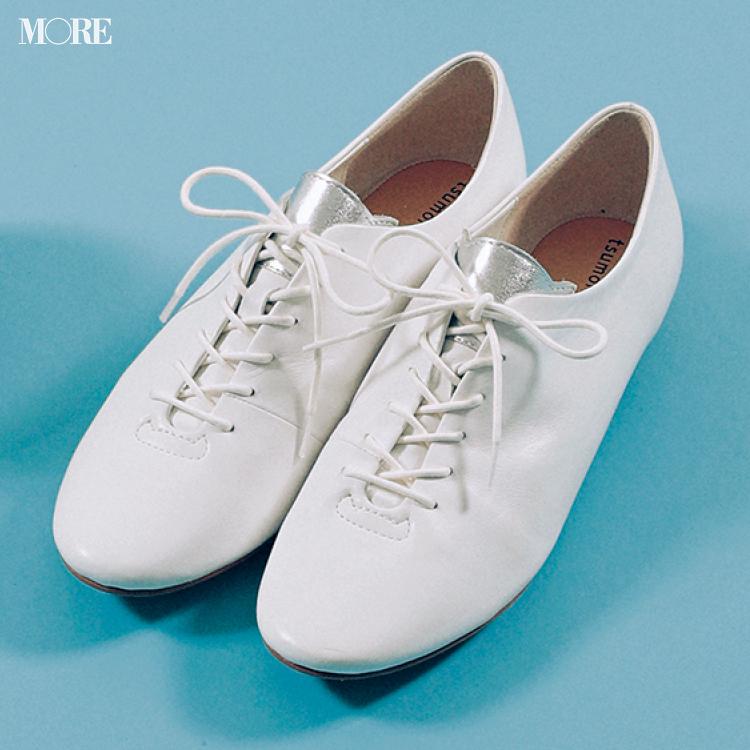 「おしゃれな軽さ」には真っ白なおじ靴が効果的♡ 夏から秋まで絶対使える一足をピックアップ!_4