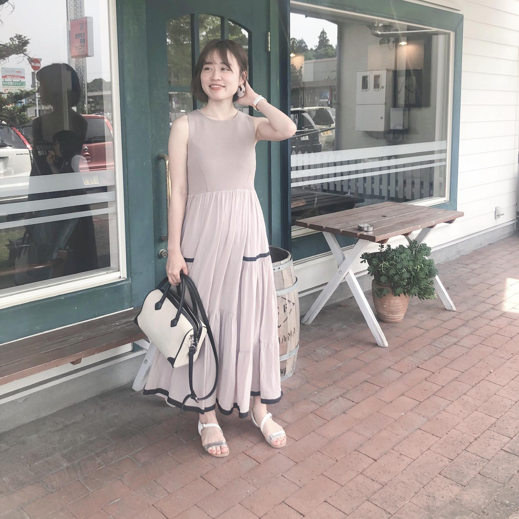 【GU】夏のトレンドワンピース!♡_2