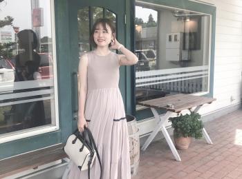 【GU】夏のトレンドワンピース!♡