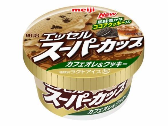 『明治 エッセル スーパーカップ』から「カフェオレ&クッキー」味登場!! 【明日7/30(月)発売】_1