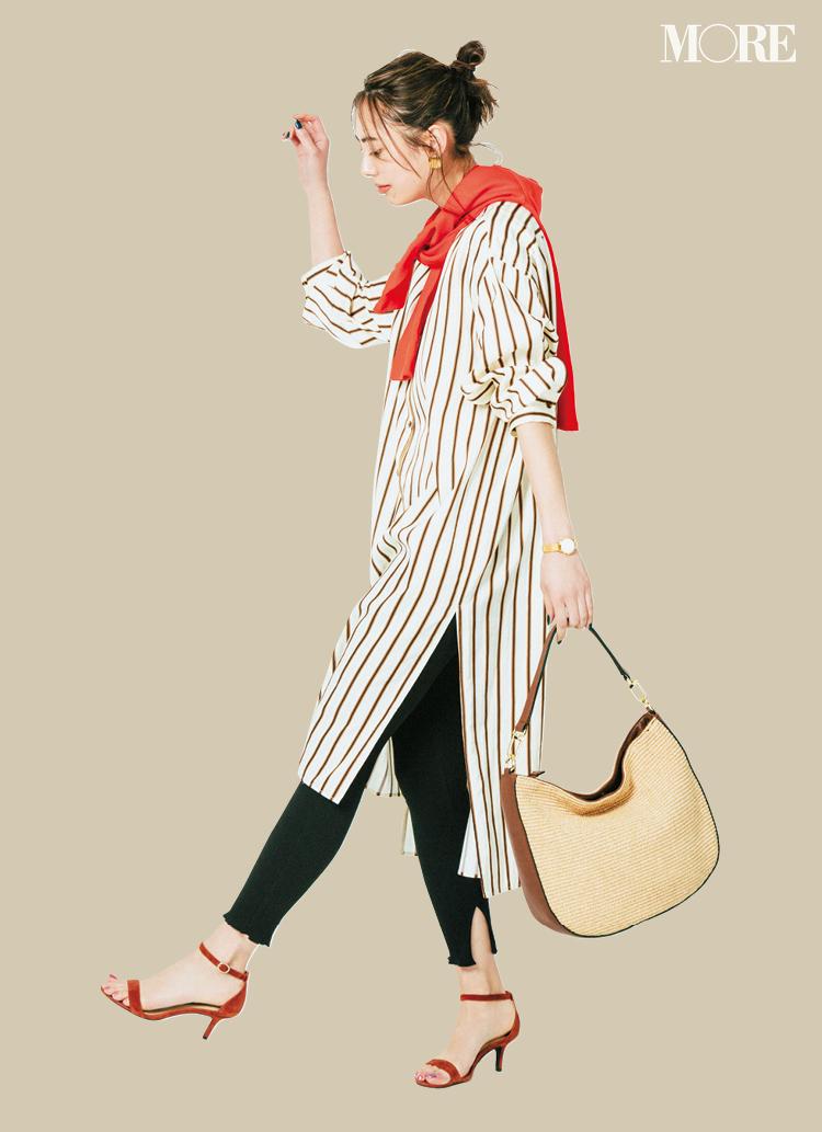 ロングスカート、ワンピース、デニムの着こなしをアップデートしなきゃ☆【G.W.中のファッション人気ランキング】_1_2