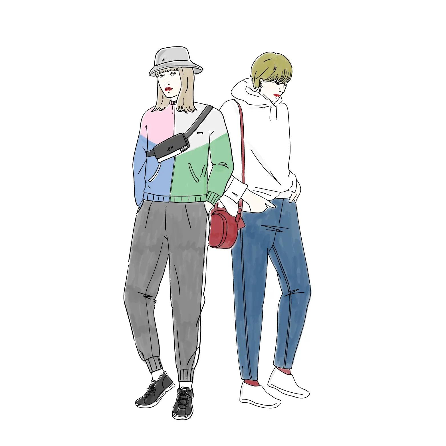 ファッションのイラスト