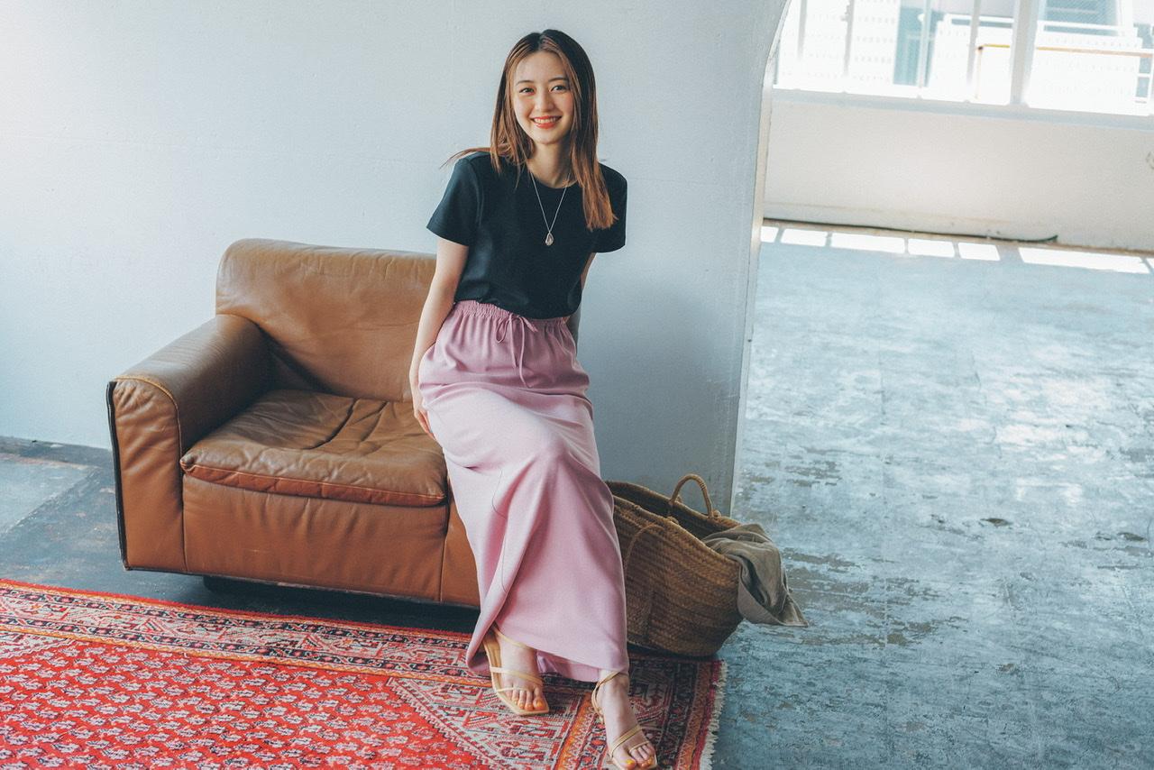 スタイリスト石田綾さんが推すユニクロはオールシーズン使えるTシャツ