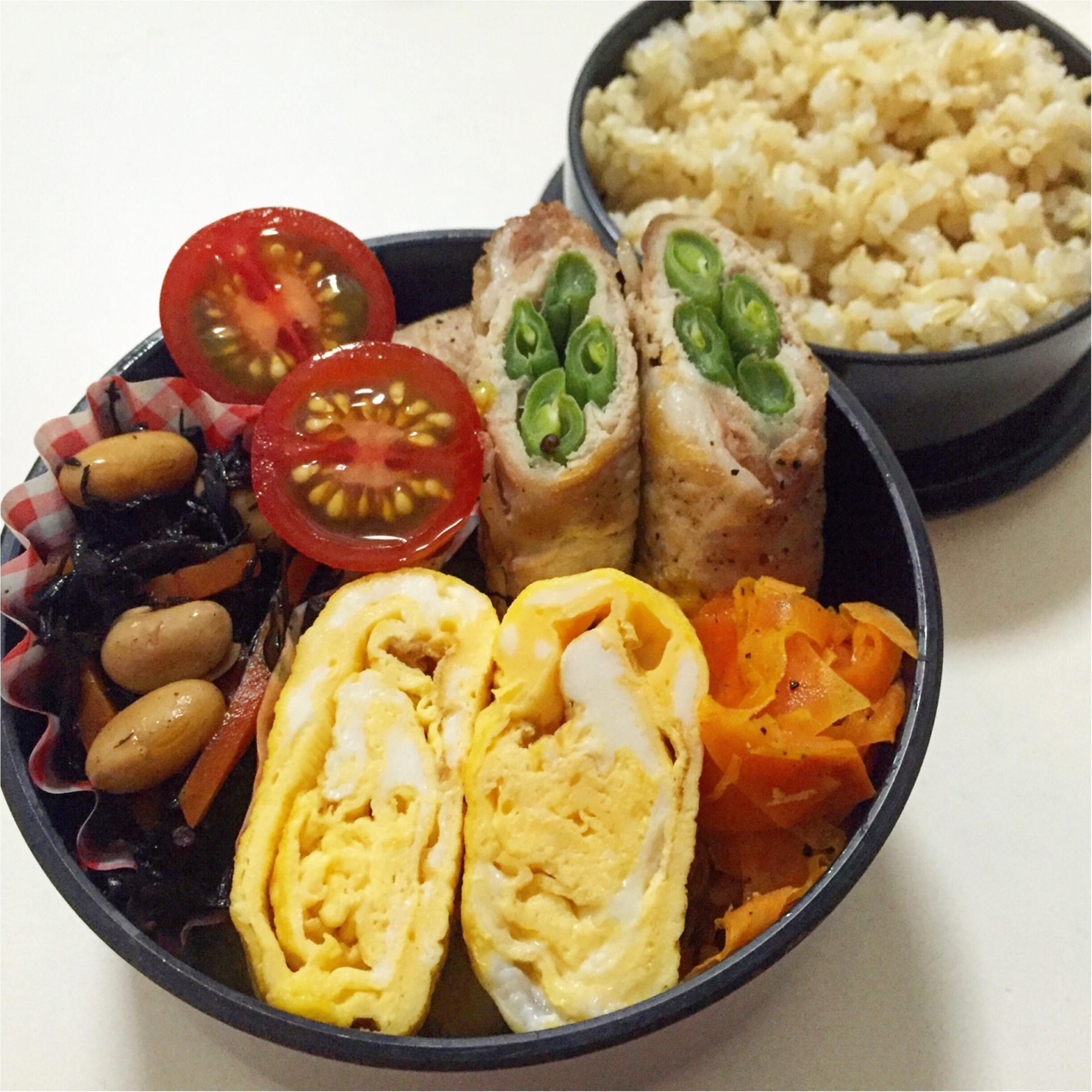 今週のお弁当と常備菜***さっこ_3