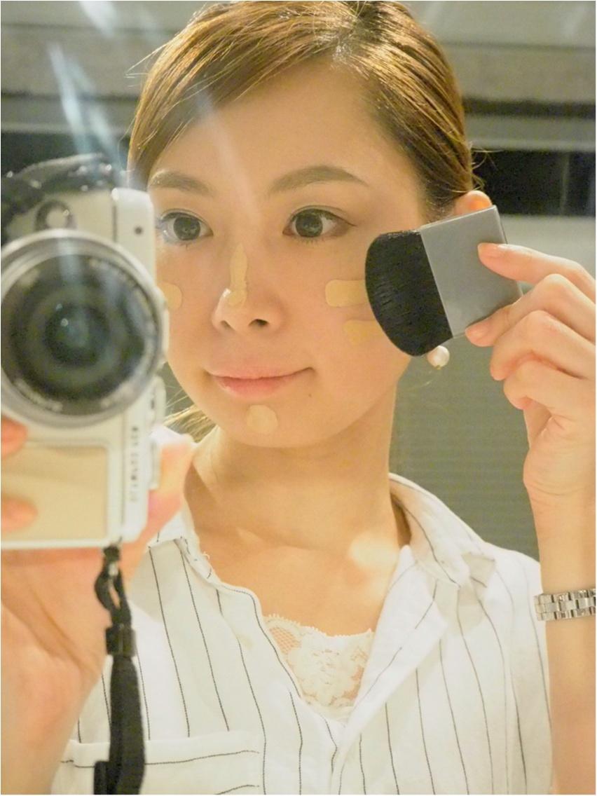 KOBAKOのファンデーションブラシは優秀♡_5