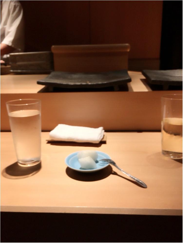 こんなのはじめて♡西麻布のお寿司屋さんに行ってきたよ♡_6
