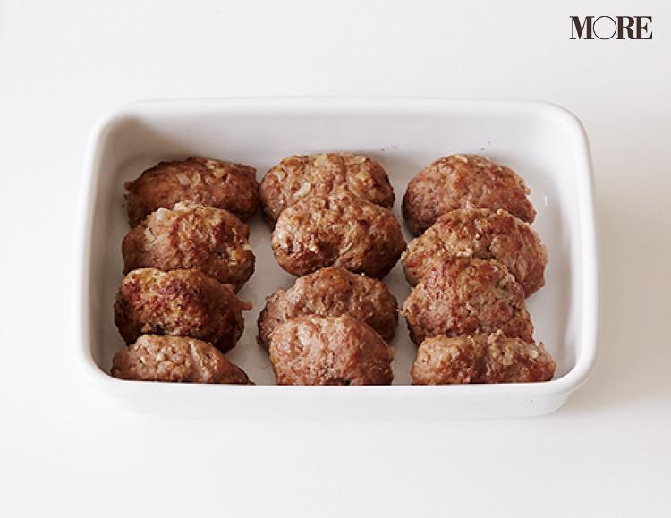 【作りおきお弁当レシピ】ひき肉の簡単アレンジおかず3品! ハンバーグやそぼろにして、バリエーションUP♡_2