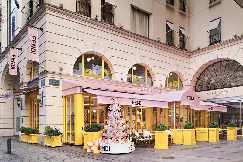 『フェンディ』のカフェ「FENDI CAFFE by ANNIVERSAIRE」が表参道に期間限定でオープン中!PhotoGallery_1_5