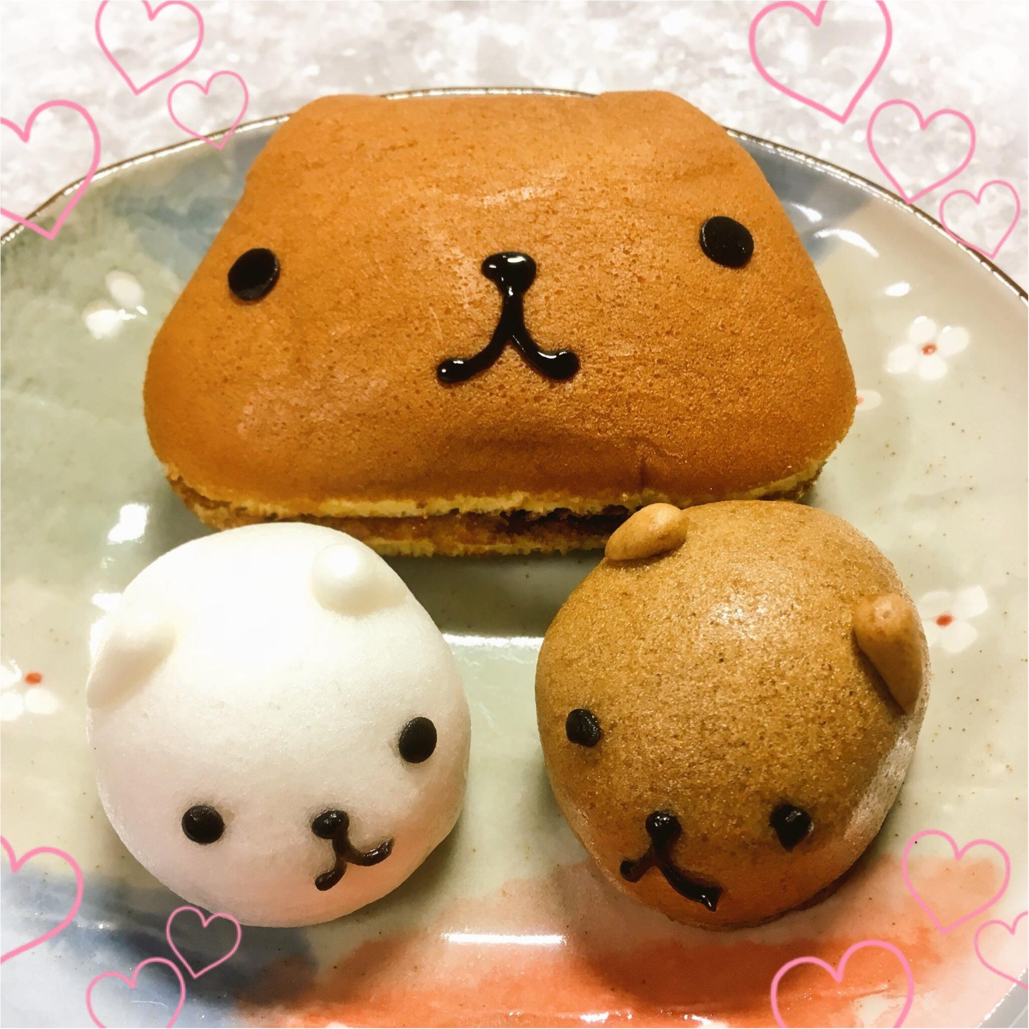 ♡数量限定♡カピバラさんの和菓子セットがかわいくっておいしい(*´ ˘ `*)♡_1
