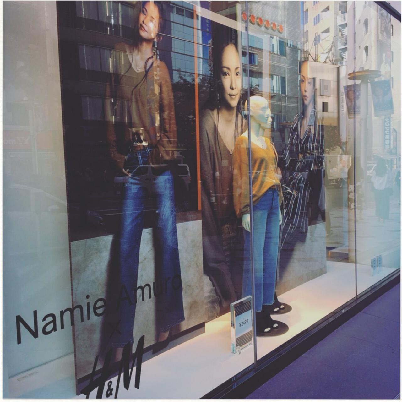 """≪""""Namie Amuro × H&M""""第2弾≫奇跡のコラボがまたまたスタート!♡わたしがゲットしたのはコレ!_1"""