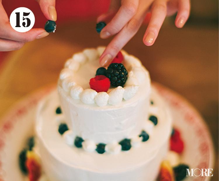 おしゃれでかわいいクリスマス用のショートケーキ作りに挑戦! レシピも要チェック【佐藤栞里のちょっと行ってみ!?】_16