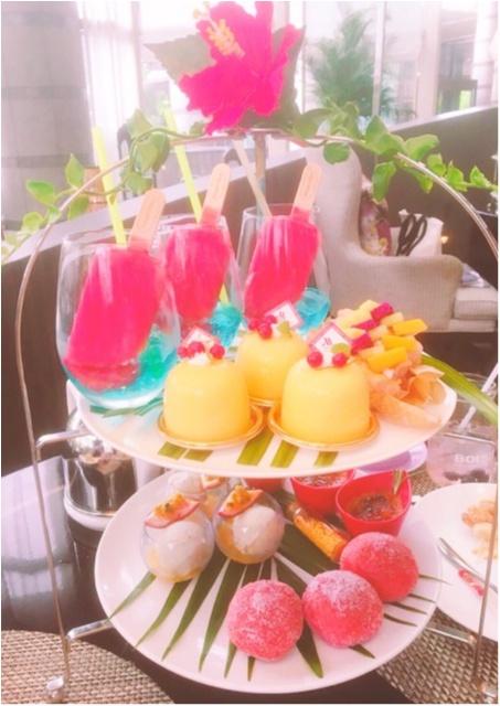 《マリオットホテルで開催中!》ハーゲンダッツ×アフタヌーンティーの今年のテーマは『トロピカルなハワイ』_4