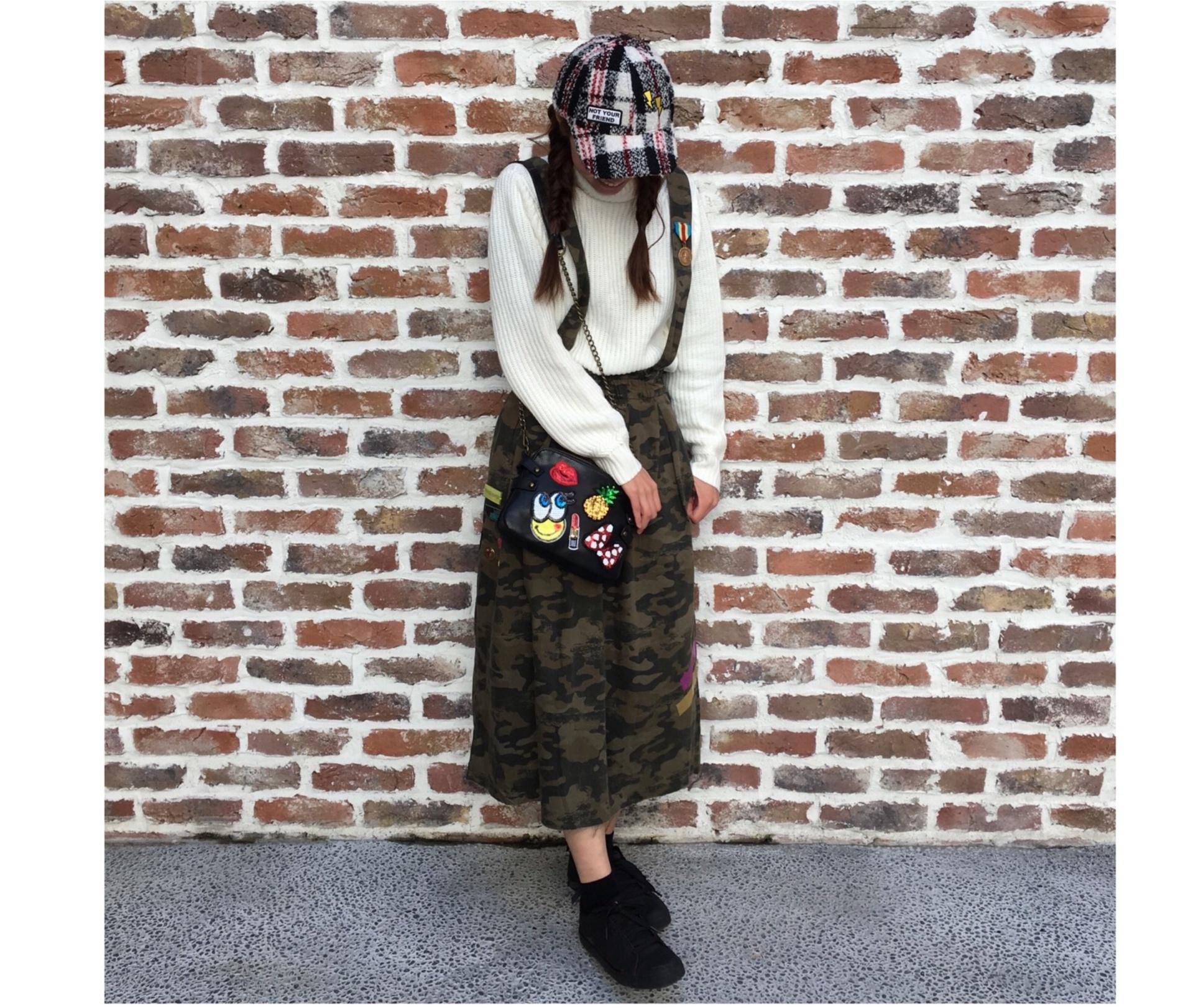 ZARAの新作!!カモフラージュ柄スカートがかわいい♡_2