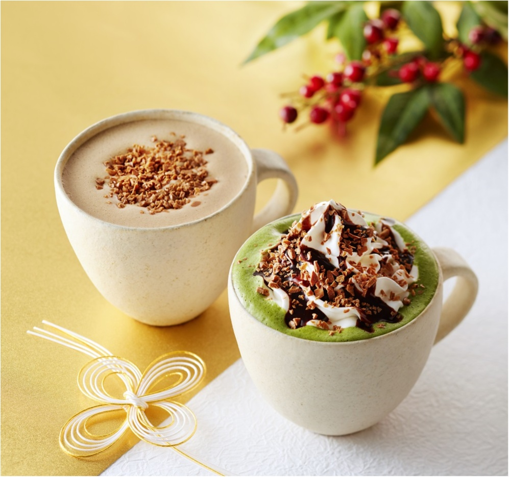 仕事はじめは『タリーズコーヒー』と共に! 新年にふさわしい和のドリンクでホッとひと息♡【1/9(火)まで】_1