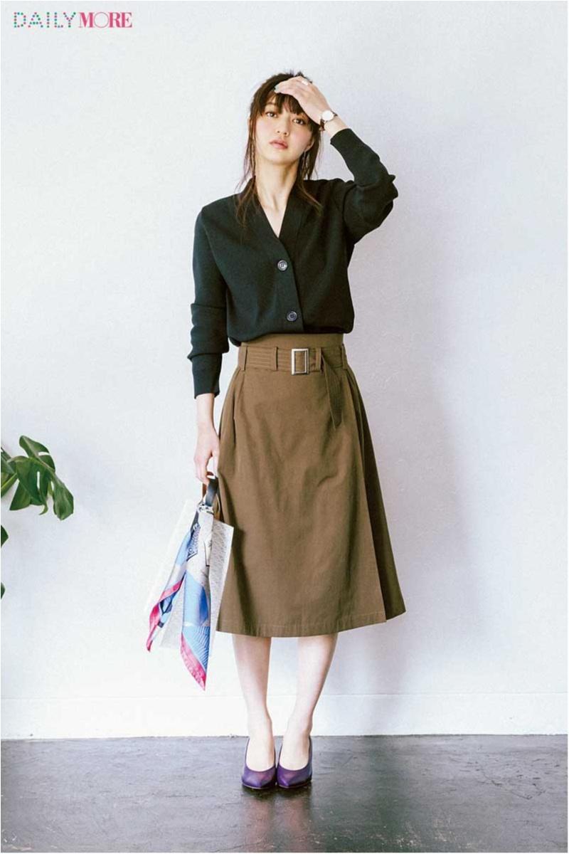 シンプルで、女っぽくて、でも普通すぎないって最高! 【ラップスカート】こそMORE世代の新定番だ!!_1