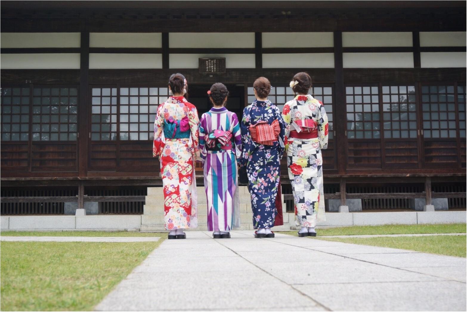 【✨着物レンタルwargo ¥2,900✨】手ぶらでOK!着物を着てお出掛けしよう❤︎鎌倉の「報国寺の竹林」「浄妙寺」「小町通り」を散歩しました♩≪samenyan≫_22