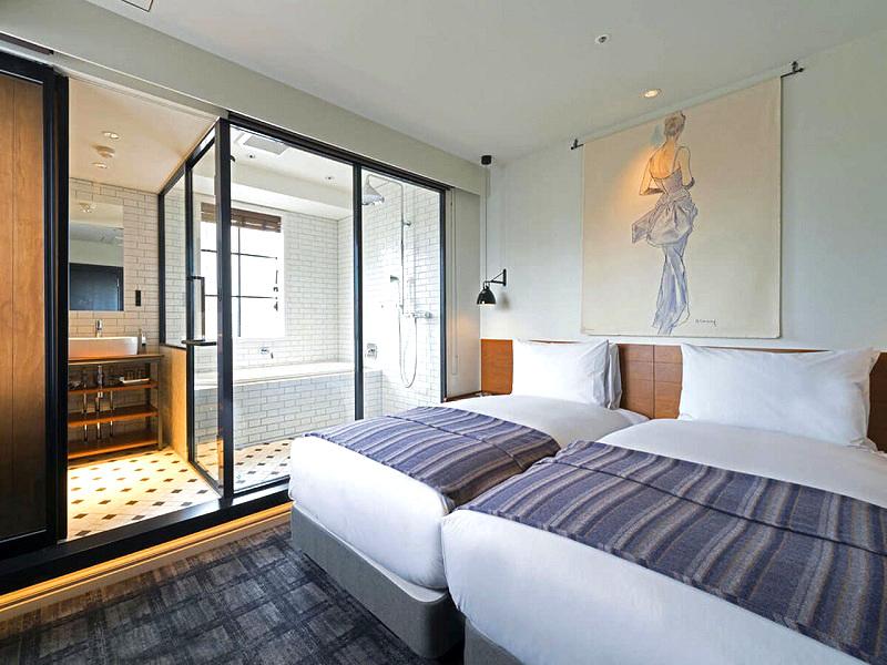 東京おしゃれホテル恵比寿ホリックホテルの客室