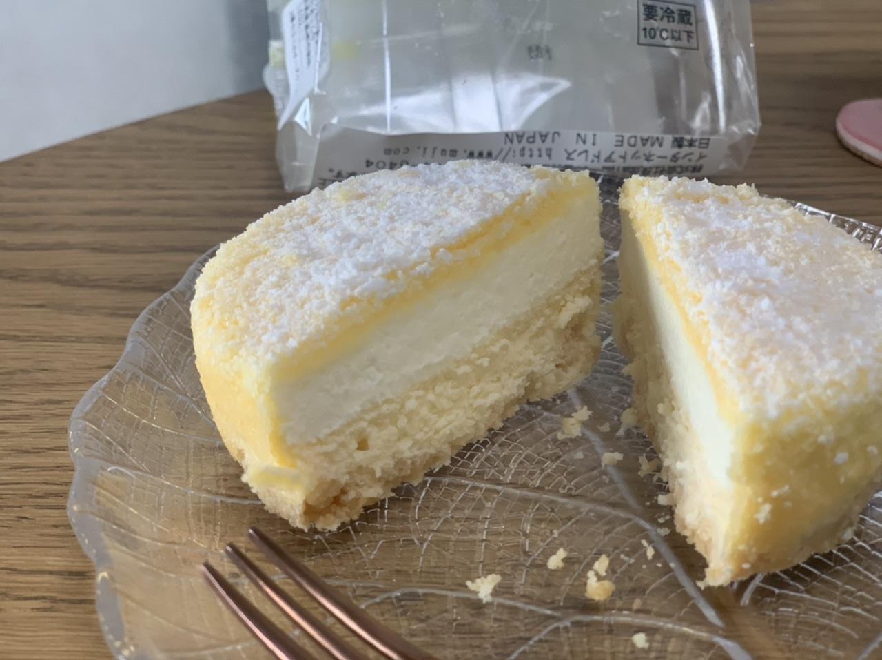 【無印スイーツ】350円は衝撃!2層仕立てのチーズケーキが本格派すぎる♡_5